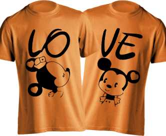 134b2c8209a0 Couple T Shirts - Buy Couple T Shirts online at Best Prices in India ...