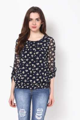e27494ee823b8 Floral Tops - Buy Floral Tops Online For Women at Best Prices In ...