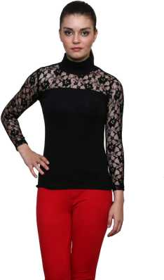 bec8a4d1d2 Crochet Tops - Buy Crochet Tops For Womens online at Best Prices in ...