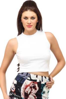 4c729d00407 White Crop Tops - Buy White Crop Tops online at Best Prices in India ...