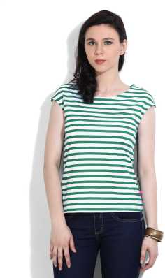 efd83ae5a7 Striped Tops - Buy Striped Tops Online For Women at Best Prices In ...