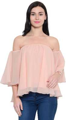 a915f92368b6e Bardot Tops - Buy Bardot Tops Online at Best Prices In India ...