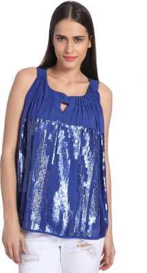 0d5fe2b92ed Sequin Tops - Buy Sequin Tops online at Best Prices in India ...
