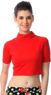 c3f51d5605fdb Crop Tops - Buy Crop Tops Online at Best Prices In India | Flipkart.com