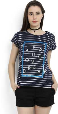 f890b2464d Striped Tops - Buy Striped Tops Online For Women at Best Prices In ...