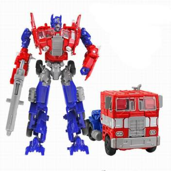 ROBOT TO TRUCK DEFORMATION TRANSFORMERS ROBOT TOY