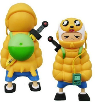 Adventure Time Finn and Jake Kids Flip Flops