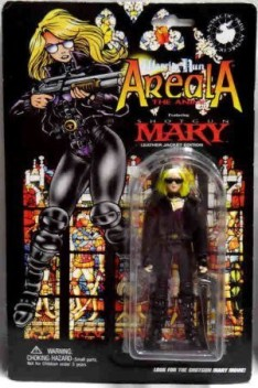 New! Warrior Nun Areala Shotgun Mary Black Leather Jacket Edition Figure