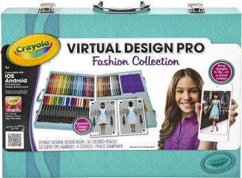Crayola Virtual Design Pro Fashion Set Virtual Design Pro Fashion Set Shop For Crayola Products In India Flipkart Com
