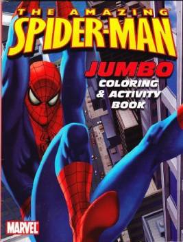 Spiderman The Amazing Jumbo Coloring Activity Book The Amazing Jumbo Coloring Activity Book Buy Spiderman Toys In India Shop For Spiderman Products In India Flipkart Com