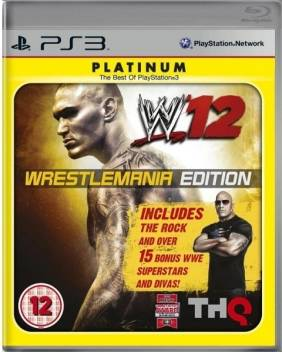 WWE 12 (Wrestlemania Edition) Price in India - Buy WWE 12