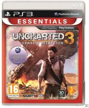 uncharted 3 ps3 cover