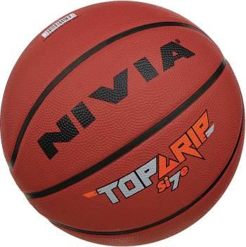 Nivia Top Grip Basketball Size 7 Buy Nivia Top Grip Basketball Size 7 Online At Best Prices In India Basketball Flipkart Com