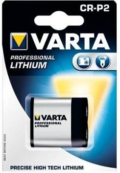 Varta Lithium Batterie CR-P2 6 V 1-Blister
