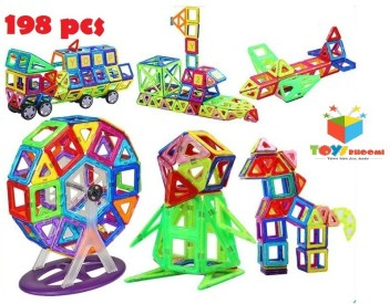 Magical Magnet Building Block Large Size Educational Toy For Kids Christmas Gift