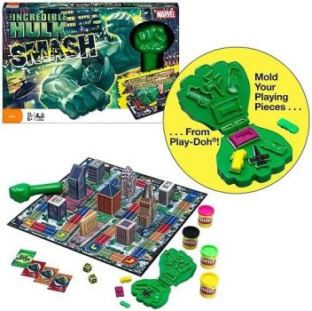 Incredible Hulk Smash Game Hasbro 40525