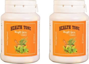 Health Tone Healthtone Health Tone Herbal Weight Gain Capsules 90 Caps 500 G Pack Of 2 Price In India Buy Health Tone Healthtone Health Tone Herbal Weight Gain Capsules 90 Caps