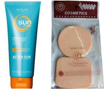Oriflame Sweden Sun Zone Intensive Balm Face And Body After Sun