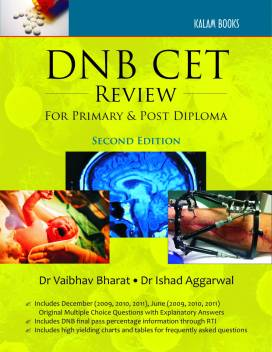DNB CET Review for Primary and Post Diploma 2nd Edition: Buy