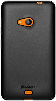 newest 70e3a 75e49 Amzer Back Cover for Microsoft Lumia 535