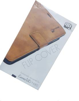 best service e57a3 4ddb2 Micromax Flip Cover for Micromax Tab P480