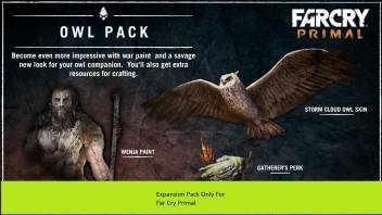 Far Cry Primal The Owl Pack Dlc With Expansion Pack Only Price In India Buy Far Cry Primal The Owl Pack Dlc With Expansion Pack Only Online At Flipkart Com