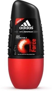 llenar Muy lejos Centímetro  ADIDAS Team force New Deodorant Roll-on - For Men - Price in India, Buy  ADIDAS Team force New Deodorant Roll-on - For Men Online In India, Reviews  & Ratings | Flipkart.com