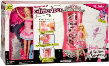Barbie A Fashion Fairytale Glitterizer Playset A Fashion Fairytale Glitterizer Playset Buy Glitterizer Toys In India Shop For Barbie Products In India Flipkart Com
