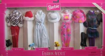 Barbie Fashion Avenue Spectacular Seasons Gift Set Special Edition 1996 Fashion Avenue Spectacular Seasons Gift Set Special Edition 1996 Shop For Barbie Products In India Flipkart Com