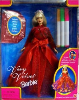 Barbie Very Velvet Doll Gift Set