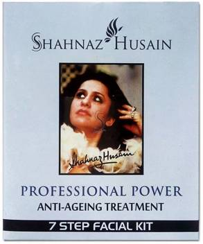 Shahnaz Husain 7 Step Anti Ageing Treatment Facial Kit 48 g  (Set of 7)