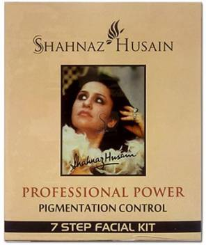 Shahnaz Husain Pigmentation Control 7 Step Facial Kit 63 g  (Set of 5)
