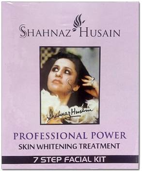 Shahnaz Husain Skin Whitening Treatment 7 Step Facial Kit 63 g  (Set of 5)