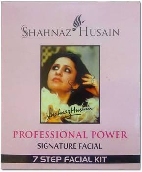 Shahnaz Husain 7 Step Signature Facial Kit 48 g  (Set of 7)