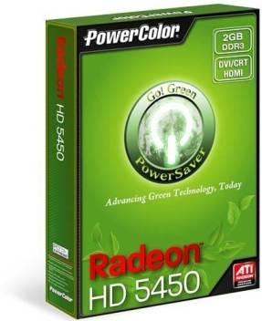 PowerColor AMD/ATI Radeon HD5450 2 GB DDR3 Graphics Card