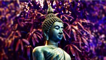 Buddha Statue Hawai On Fine Art Paper Hd Quality Wallpaper Poster Fine Art Print Religious Posters In India Buy Art Film Design Movie Music Nature And Educational Paintings Wallpapers At Flipkart Com