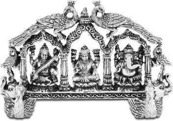 Png Laxmi Ganesh And Saraswati Decorative Showpiece 7 62 Cm