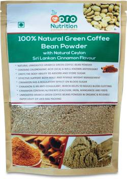 Pronutrition 100 Natural Arabica Green Coffee Bean Powder With