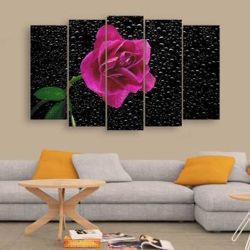 Frames Beautiful Flower Wall Painting