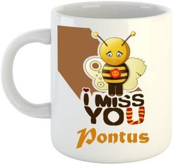 Dream Web Miss You Pontus Ceramic Mug Price In India Buy Dream Web Miss You Pontus Ceramic Mug Online At Flipkart Com