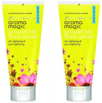 Aroma Magic Grapefruit Pack Of 2 Face Wash  (200 ml)