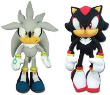 Great Eastern Sonic The Hedgehog Sonic Shadow Plush Set Of 2 9 Inch Sonic The Hedgehog Sonic Shadow Plush Set Of 2 Buy Sonic Shadow