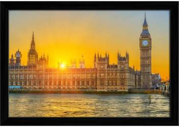 Artzfolio Houses Of Parliament At Sunset London England
