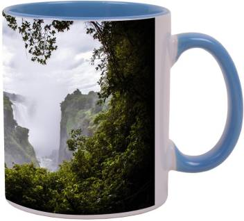 Arkist Victoria Falls Zimbabwe Blue Ceramic Coffee Mug Price In India Buy Arkist Victoria Falls Zimbabwe Blue Ceramic Coffee Mug Online At Flipkart Com