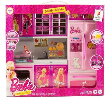 Presentsale Barbie 3 Compartment Kitchen Set For Girls Barbie 3 Compartment Kitchen Set For Girls Buy Barbie Toys In India Shop For Presentsale Products In India Flipkart Com