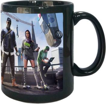 Arkist Watch Dogs 2 Marcus Sitara Wrench Wallpaper Black Ceramic Mug Price In India Buy Arkist Watch Dogs 2 Marcus Sitara Wrench Wallpaper Black Ceramic Mug Online At Flipkart Com