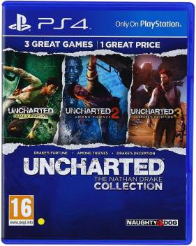 Uncharted The Nathan Drake Collection Price In India Buy