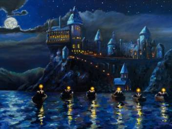 Ravgar Harry Potter Hogwarts Castle