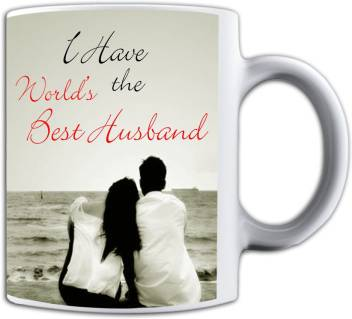 Noozarts I Have The World S Best Husband With Love Quotes Ceramic