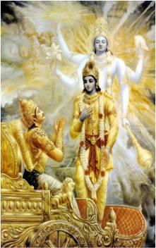 medium go hi kr 016 lord shri krishna with arjun mahabharat original imaewtk44bkmvtpz